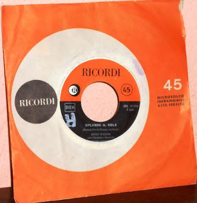 Sanremo 1960 - Irene D'Areni - Splende il sole