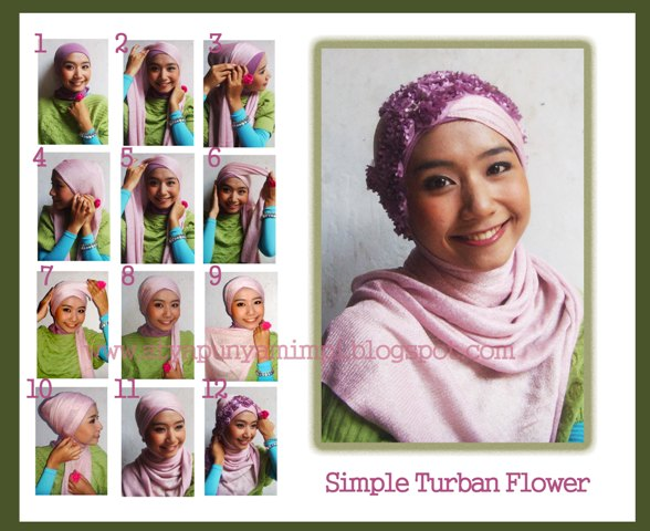 Simple Turban Flower