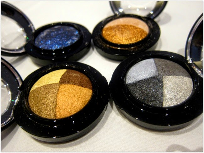New MAC Mineralize Duo and Pinwheel Shadows August 2014