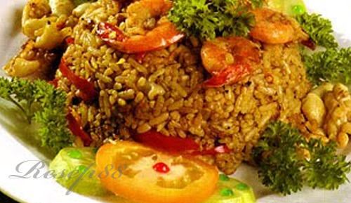 Nasi Goreng Saus Tiram