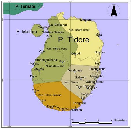 Kota Tidore - Tempat Wisata Provinsi Maluku Utara