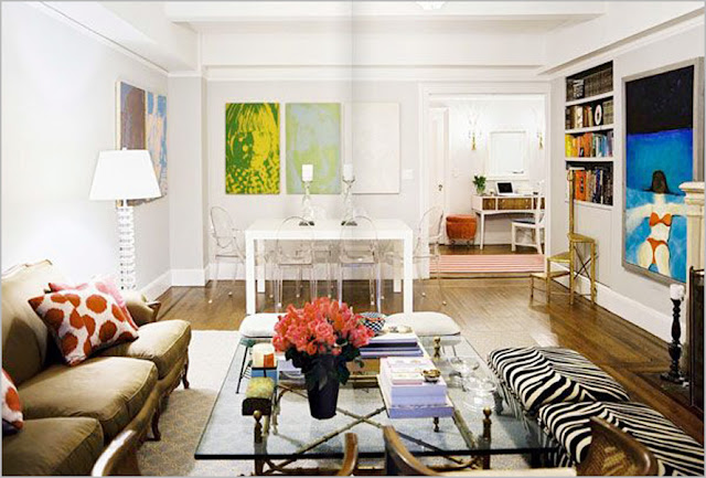 Bright Colored Living Rooms Will Give You the Most Vibrant Nuances
