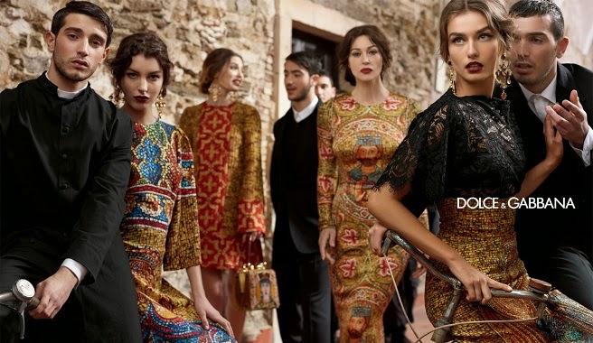 La famosa marca italiana de alta costura Dolce  Gabbana sacó una colección otoño,invierno hace un año que no dejó a nadie indiferente.