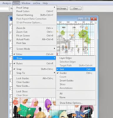 grid Trik membuat Desain Layout Dengan Photoshop