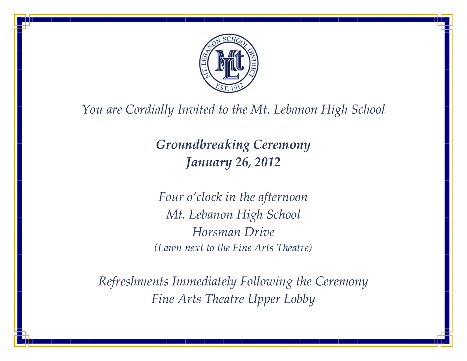 Lebo Citizens: An invitation to the rest of us