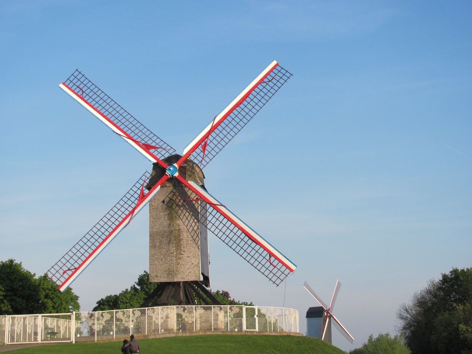 Two of the Remaining Windmills