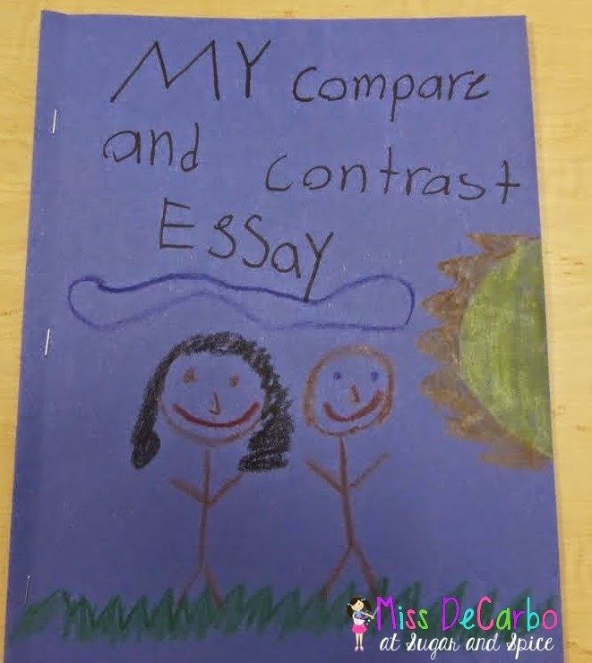 Comparison essay on two friends