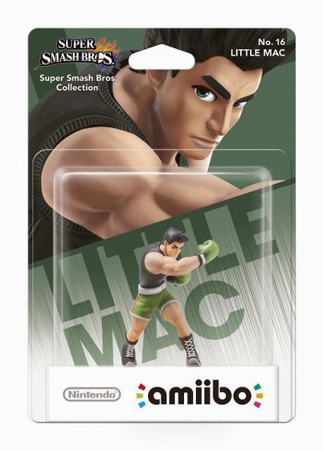 JUGUETES - NINTENDO Amiibo - 16 : Figura Little Mac   (19 diciembre 2014) | Videojuegos | Muñeco | Super Smash Bros Collection  Plataforma : Wii U & Nintendo 3DS