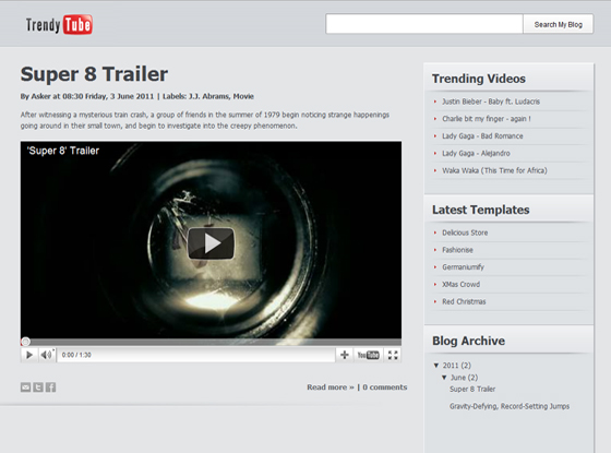 Trendy Tube Click here download