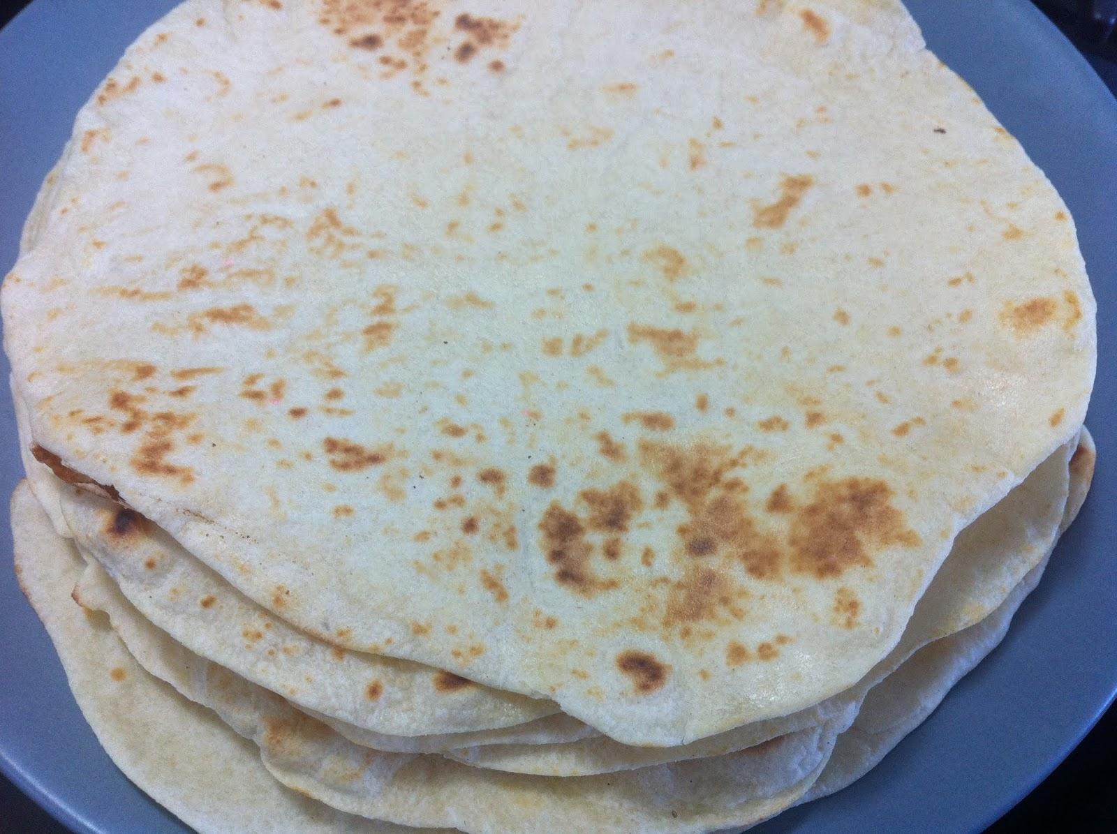 Cooking with SAHD: Homemade Flour Tortillas (No Lard or Shortening)
