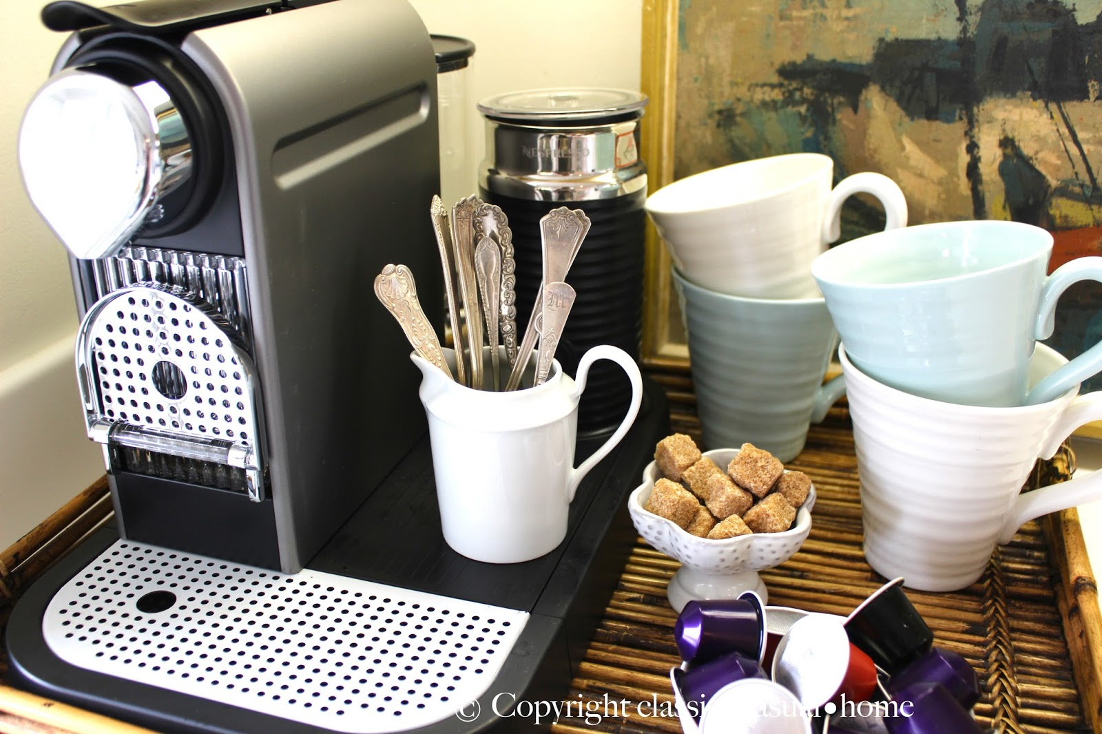 Kitchen Coffee Bar Classic O Casual O Home Our New Coffee Station And Feeling Japanese