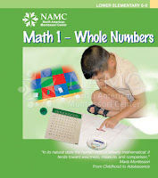 NAMC montessori materials math bead cabinet elementary math 1 manual