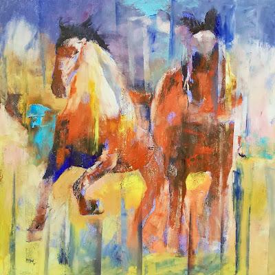 Cuadros abstractos modernos trpticos para decor pinturas - Decorarte pinturas ...