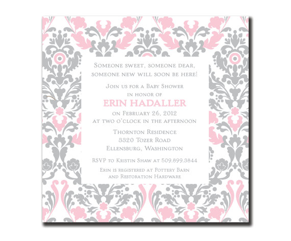 baby shower invite wording for gift cards. baby shower gift, Baby shower invitation
