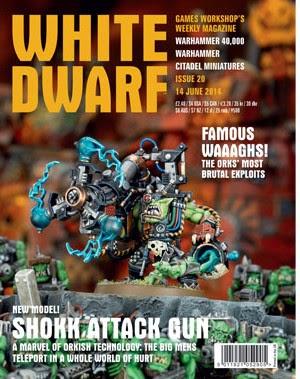 White Dwarf Weekly número 20 de junio