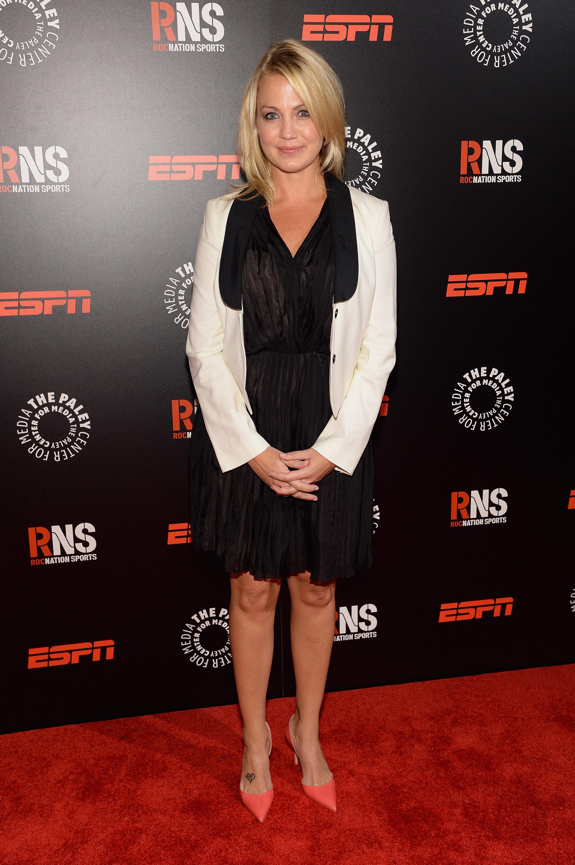 Michelle Beadle Heels The Toe Cleavag...