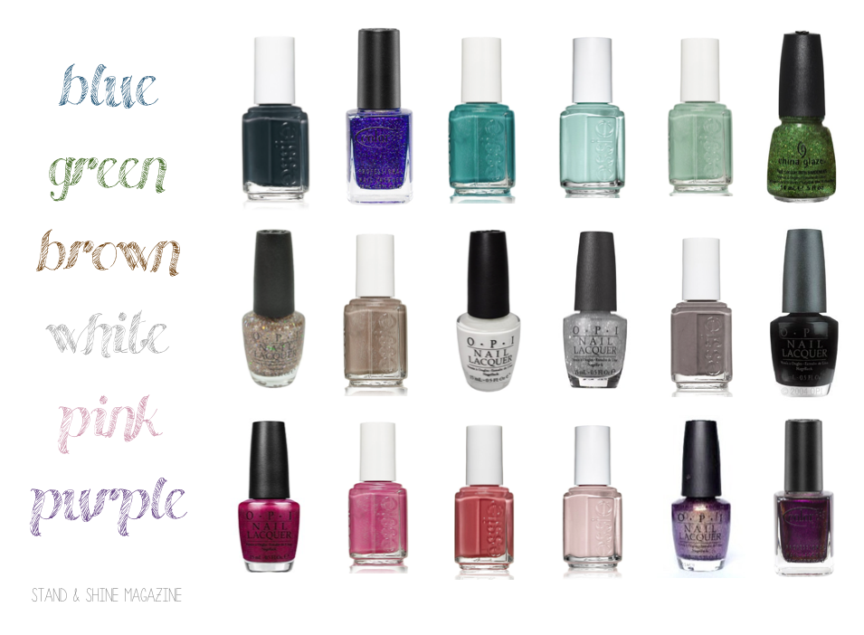 Stand & Shine Magazine: Favorite Things Friday: Winter Nail Polish
