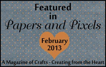 Papers and Pixels Feb Featured Designer