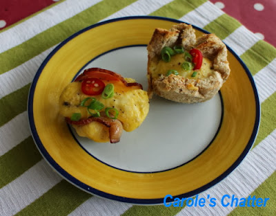 Scrambled egg cups by Carole's Chatter