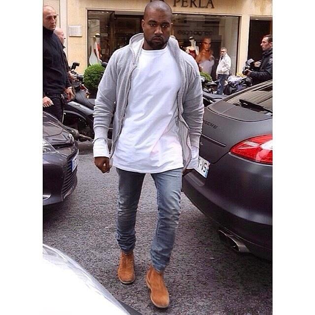 fashion trends kardashian kanye west matching outfits
