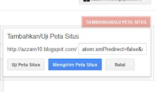 Pendaftaran sitemap google