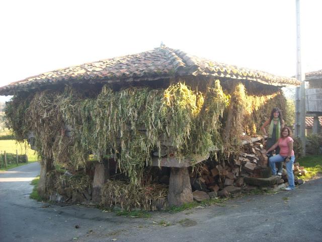 turismo casa rural Asturias Villaviciosa horreo