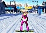 juego de snowboard