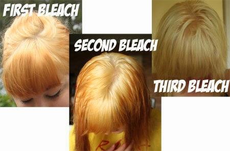 greeny pinky butter cara bleaching rambut blonde asian