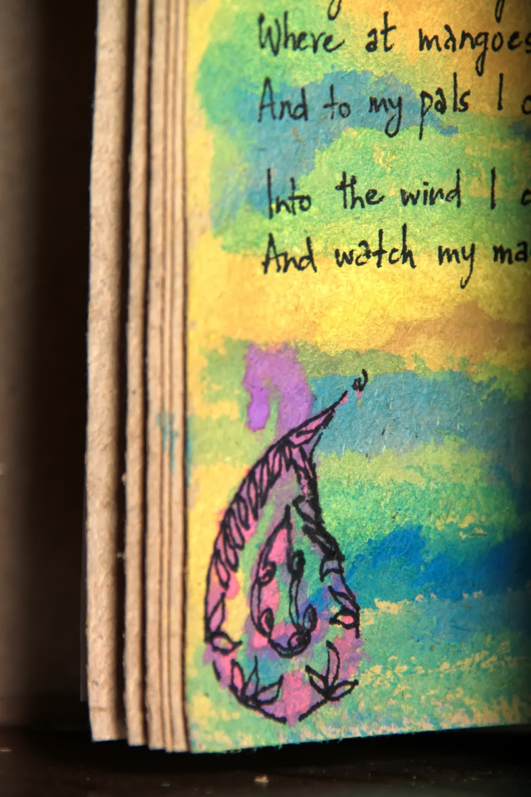Art Journal - Painting Poems
