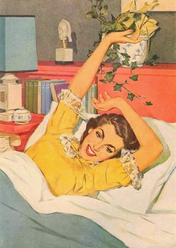 risveglio a letto