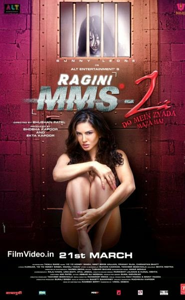 Ragini MMS - 2 Movie First Look Poster