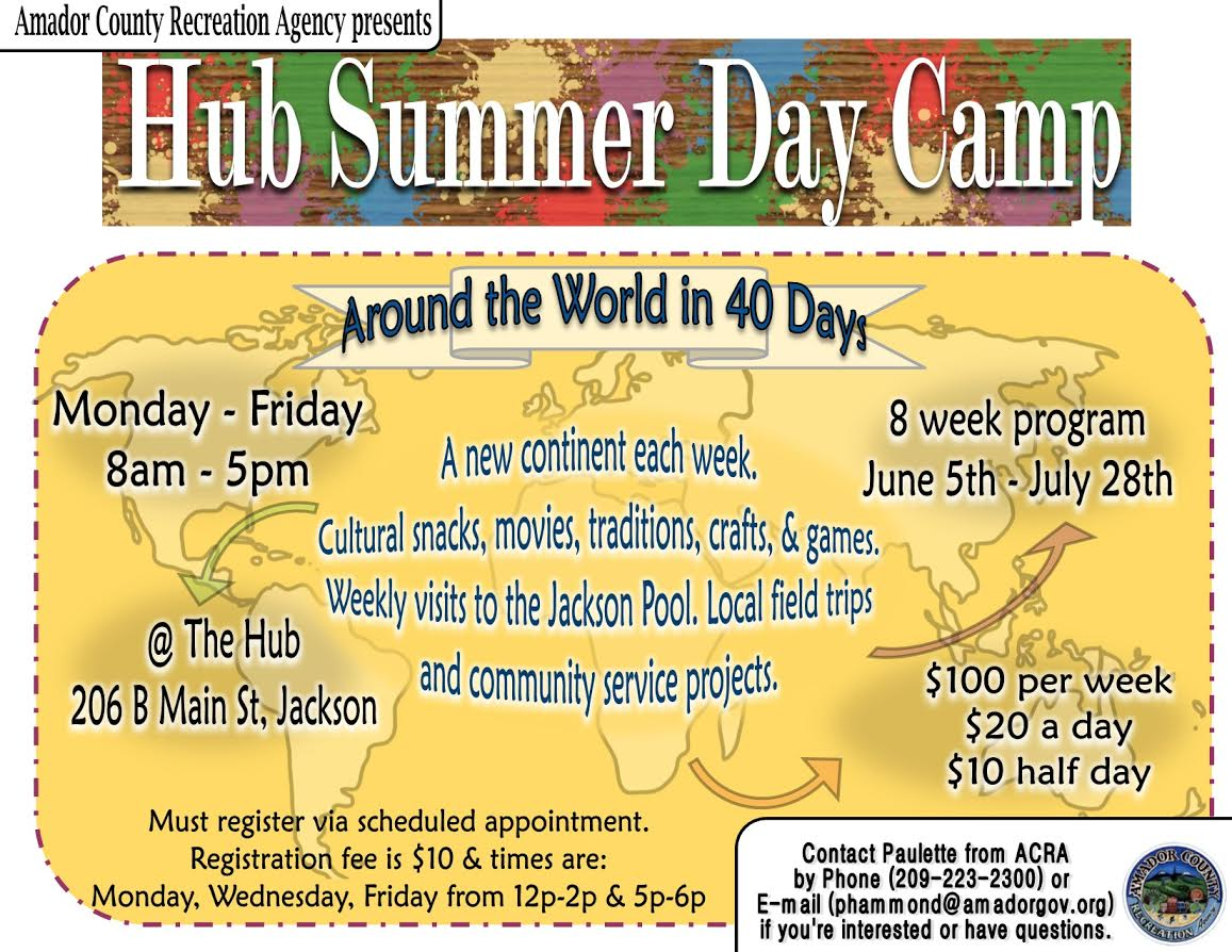 Hub Summer Day Camp ~ June 5-July 28