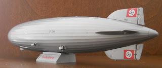 maqueta revell del dirigible airship luftschiff lz 129 Hindenburg