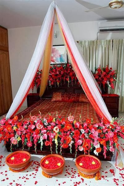 Decor room for your wedding day from the ideas of 2014 for Wedding day room decoration