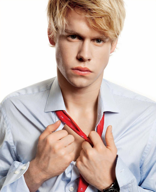 Chord Overstreet pouting into the camera