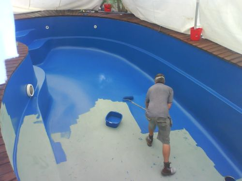 Jamar s muniz pintura de piscinas for Piscinas pvc baratas