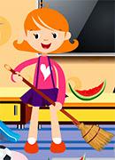 Игры Уборка - Онлайн игра для девочек