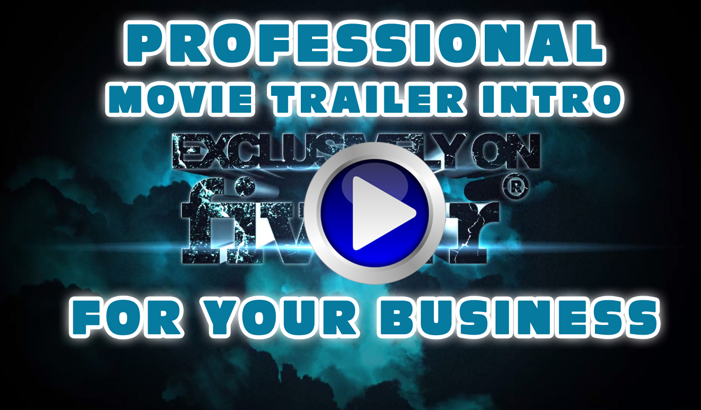 Cinematic Trailer Intro for Business