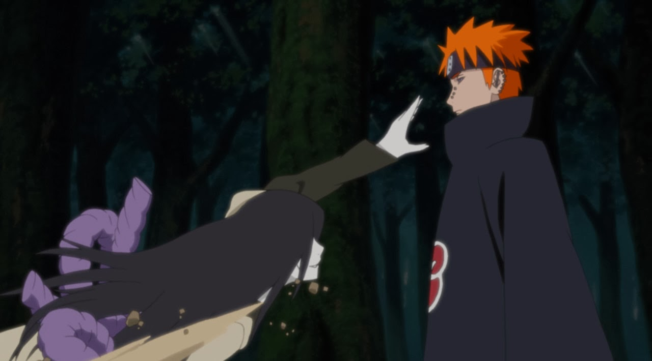Naruto Storm Revolution Origins of Akatsuki Pain verses Orochimaru