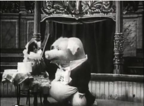 Dancing Pig 1907 Zul The Dancing Pig  1907