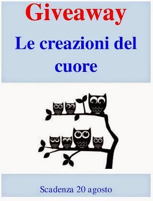 http://lecreazionidelcuore.blogspot.it/2014/07/giveaway-per-festeggiare.html