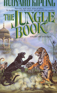 Jungle Book, Rudyard Kipling, InTorilex, Top Ten Tuesday