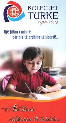 Resultatet e Provimit te Pergjithshem te Klasave te 8-a dhe 9-a Per Pranim ne Kolegjet Turke