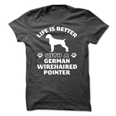 German Wirehaired Pointer T Shirts