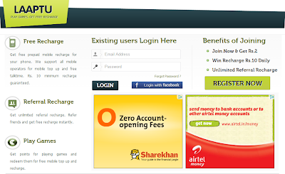 Top 5 Sites to get mobile recharge in India