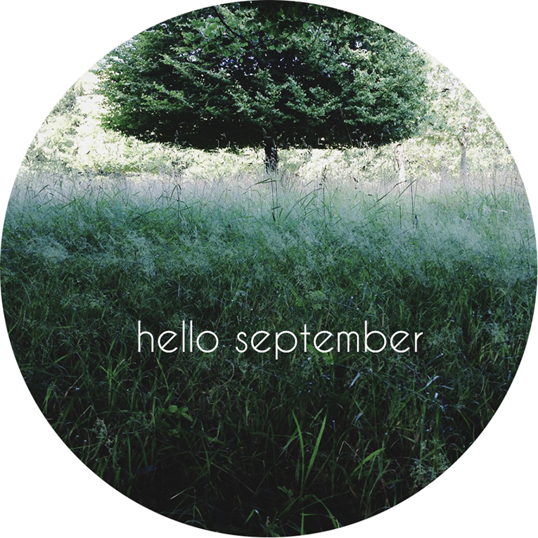 Green fluffy tree | Hello September