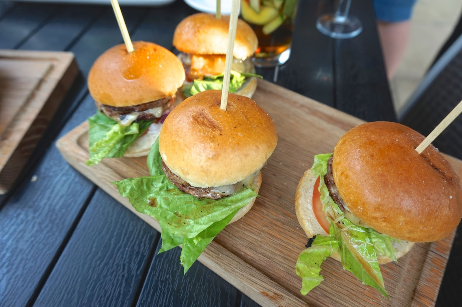 Beefeater grill summer menu sliders