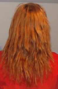 włosy z dnia 29.10.2012 z lampą