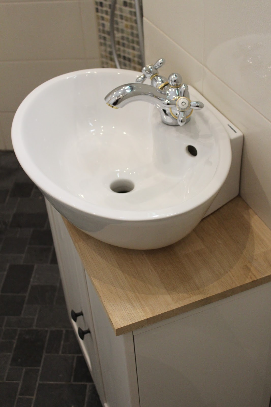 Elämää kotona ja kylillä Kylpyhuone remontti