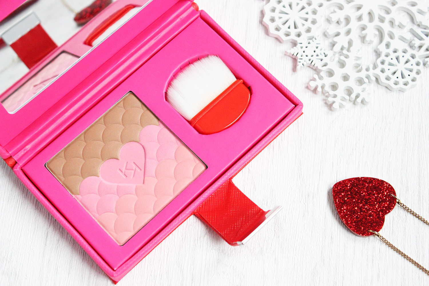 Kiko Best Friends Forever BFF collection review - love elixir face powder
